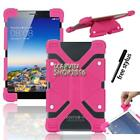 """Shockproof Silicone Stand Cover Case For Zeki 7"""" / 8"""" Tablet + Stylus"""