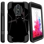 For LG Tribute Dynasty | Rebel 3 | Aristo 2 | LG K8 X210 Shockproof Bumper Case