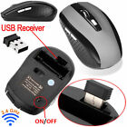 2.4GHz USB 2.0 Wireless Optical Mice Mouse With Mini Receiver For Laptop PC New