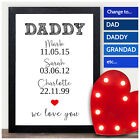 Daddy Fathers Day Gifts Personalised Presents Keepsakes for Dad Father Grandad