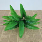 Fake Lifelike Plant Green Plant with 7 Branches 21 Leaves for Home Decoration