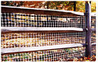 4' x 50' Tenax Deck Rail Pool and Patio Fence Brown or White