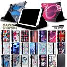 "For Various 7"" 8"" 10"" HP Slate Tablet - FOLIO LEATHER STAND CASE COVER + Stylus"