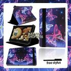 "For Various 7"" 8"" 10"" Lenovo Tablet - FOLIO LEATHER STAND CASE COVER + Stylus"