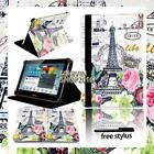 For Various Samsung Galaxy Tab S / E Tablet -FOLIO LEATHER STAND CASE COVER +pen