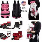 Soft Dog Cat Carrier Bag Outdoor Travel Backpack Pet Puppy Double Sling Tote New