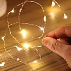 20 LED 2M Mini LED Lights Copper Batteries Wire String Fairy Lamps home dekor