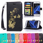 samsung note 4 accessories - Case Cover For Samsung Galaxy NOTE 4 Folio Card Wallet Smooth Leather Soft Strap