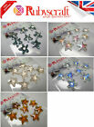 8pcs Authentic Swarovski 6721 16mm Starfish Pendants - Please select colour