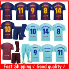 2018 Home Boy Soccer Shirts Kid football Suit Jersey Kits Kids Short Outfits Set image