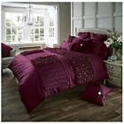 Signature Verina Luxury Stylish Duvet Cover Quilt Bedding Set With Pillowcase