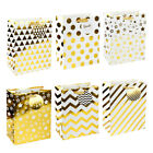 """LaRibbons - 12 Pack - 10"""" x 5"""" x 13"""" - Large Size Gift Bags for Wedding"""
