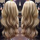 Long Wavy 100% Brazilian Remy Human Hair Lace Front Wig with Baby Hair #18/613
