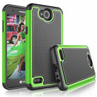 LG X power™2 (LGM320G) - Hybrid Hard Armor Shockproof silicone Hard Case Cover