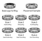 Transylvania Pioneers Hunting and Fishing Ring | Stainless Steel 8mm Wide