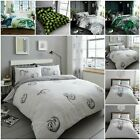 Luxury Tropical Leaf Duvet Quilt Cover Bedding Bed Linen Set With Pillow Case