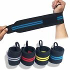 Weight Lifting Gym Palm Gel Pad Hand Grips Wrist Support Straps Training Gloves