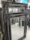 MIRROR - HOME DECO   EUROPEAN  FRENCH PROVINCIAL ORNATE FRAMED BEVELLED MIRROR