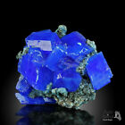 WoW! THE BEST !!! XXL Electric Blue CHALCANTHITE on Matrix from POLAND