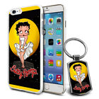 Betty Boop Design Hard Case Cover & Free Keyring For Various Mobiles - 21 $9.46 AUD on eBay