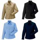 Russell Collection Mens Long / Roll-Sleeve Work Shirt (RW3260)