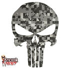 "Punisher ""Digital CAMO"" Sticker - Window Car Truck Bumper Vinyl Decal #FS2018"