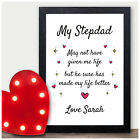Personalised Fathers Day Gifts for Step Dad - Step Dad Presents for Fathers Day