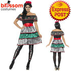 CA700 Ladies Day of the Dead Senorita Doll Mexican Halloween Dress Up Costume