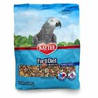 Bird Parrot Pet Food Grain Kaytee Diet Pro Health Brain Heart Feather Skin Small