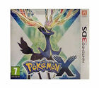 Pokemon X (Nintendo 3DS, 2013) with box hardly used