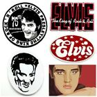 Elvis Presley Patch Embroidered Sew Iron On Rock N' Roll Band Music Applique Cap