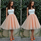USA Stock Women Sexy Prom Ball Gown Wedding Evening Cocktail Party Formal Dress