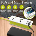 Travel Power Strip Surge Protector 5V 4.2A Output Multi-Port USB Wall Charger