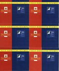 GB 1993 6 x (20 x 1st Class) Stamp Booklets SG MG1 Face Value £80.40 Cat £132