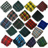 More images of New Tartan Scottish Purled Fringe Budget Fly Plaid for Kilts in Range of Tartans
