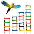 Wooden Pet Parrot Climbing Ladder Toy Parrot swing shelf birds supplies Wood