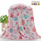 NEW Baby Blankets New Thicken Double Layer Coral Fleece Infant Swaddle Bebe Enve