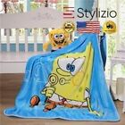 NEW 100X140Cm Kids/Baby Nursing Blankets Flannel Throw Blanket Coral Fleece Port