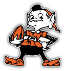 Cleveland Browns NFL Football Logo Car Bumper Sticker Decal - 9'', 12'' or 14'' on eBay