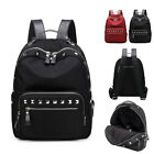 Fashion Water Resistant Nylon Stud Small Backpack Rucksack Bag Purse Daypack New