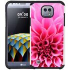 For LG X Cam K580Y Shockproof Hybrid Armor Case Skin Slim Dual Layer Phone Cover