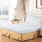 "Polyester Bed Skirt – Bed Valance Hides Bed Risers With Platform, 10"" Drop image"