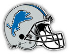 Detroit Lions NFL Football Helmet Logo Car Bumper Sticker  -9'', 12'' or 14'' on eBay