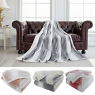 Luxury Micro Plush Blanket Throw Rug in Single & Double & Queen Size Bed image