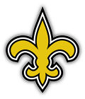 New Orleans Saints NFL Symbol Yellow Bumper Sticker Decal  - 3'', 5'' or 6'' $3.75 USD on eBay