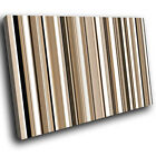 ZAB381 Brown White Black Modern Canvas Abstract Home Wall Art Picture Prints