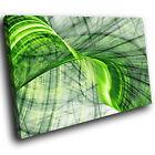 ZAB1545 Green Grey Black Modern Canvas Abstract Home Wall Art Picture Prints