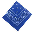 Paisley Bandana Scarf Neck Cotton Wrap Skull design Head Sciarpa Wrist wear Mask