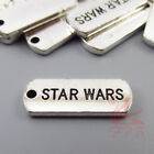 Star Wars Charms 21mm Wholesale Antiqued Silver Plated Pendants - 8/15/30PCs $5.0 USD on eBay