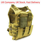 Adjustable Military Tactical Vest for Airsoft Paintball / Molle / Plate Holder